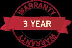 3 year warranty FX Multi